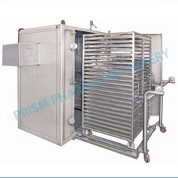 Tray Dryer with double trolley