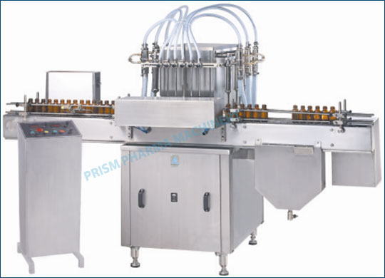 Automatic Liquid Filling Machine Oral Liquid