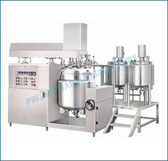 Ointment/ Cream/ Tooth Paste Manufacturing Plant- 400 L