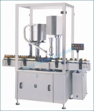 Automatic Screw Cap Sealing Machine