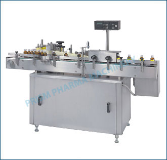Automatic Self Adhesive Labeling Machine: Single Side