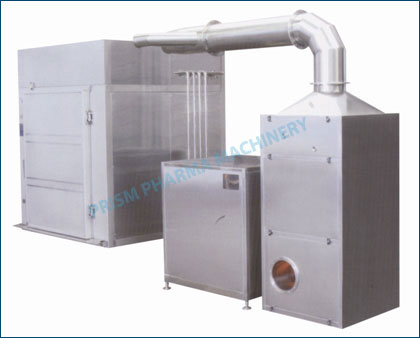 Closed Cabinet type IBC Bin Washing System: IBC Bin CIPO/WIP System