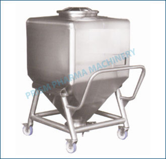 Square IBC Bin with detachable trolley