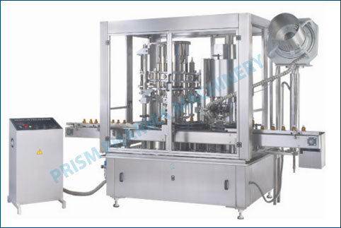 Monoblock Rotary Piston Filling & sealing Machine