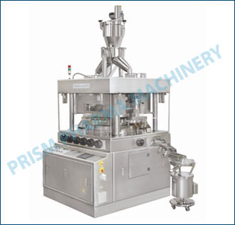 Tablet Press with Vacuum Conveying System