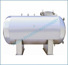 Plain Horizontal Storage Tank